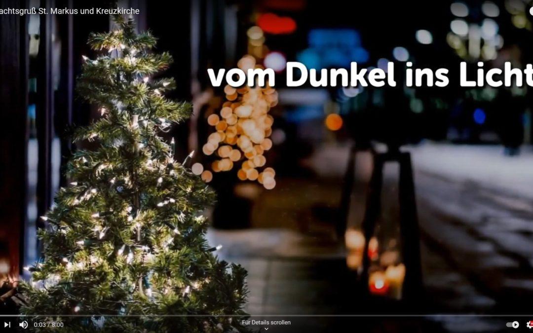 Vom Dunkel ins Licht: Unser Weihnachtsvideo in Kooperation mit St. Markus